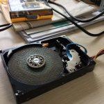坏硬盘改装成电磨机 sata口的